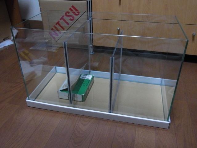 自作オーバーフロー濾過システム!60cm水槽改造濾過槽の自作
