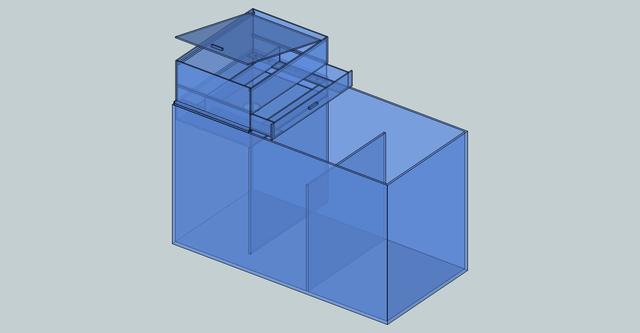 設計図面 濾過槽との組み合わせ