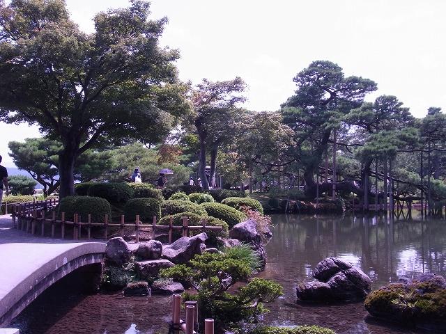 金沢の観光地 兼六園