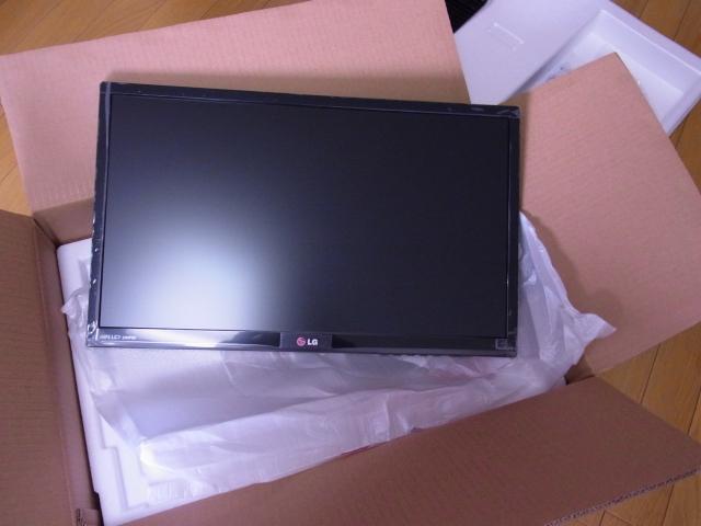 LGのAH-IPS PCモニタ 23MP55HQ-Pを開封