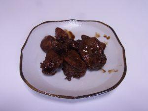 亀と一緒にレバーを食べよう!鶏レバーの甘辛煮作ってみた!
