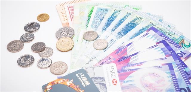 シンガポールドルなどの外貨