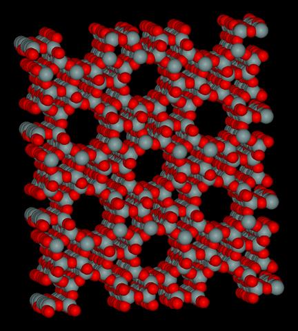 ゼオライトの分子構造